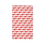 Krill Pattern Area Rug