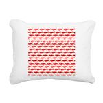 Krill Pattern Rectangular Canvas Pillow