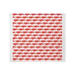 Krill Pattern Throw Blanket