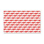 Krill Pattern Car Magnet 20 x 12
