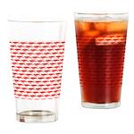 Krill Pattern Drinking Glass
