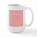 Krill Pattern Mugs