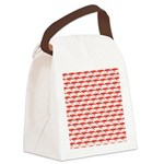 Krill Pattern Canvas Lunch Bag