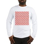 Krill Pattern Long Sleeve T-Shirt