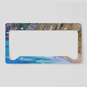 Big Sur Beach License Plate Holder