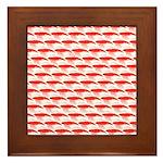 Krill Pattern Framed Tile