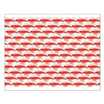 Krill Pattern Posters Small Poster