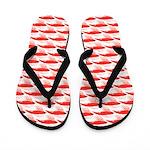 Krill Pattern Flip Flops