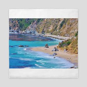 Big Sur Beach Queen Duvet