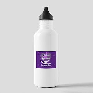Purple Rhythmic Gymnastics Water Bottle