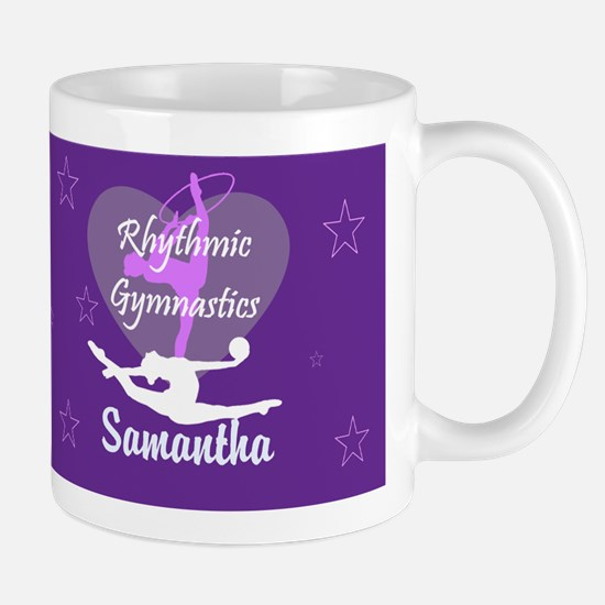 Purple Rhythmic Gymnastics Mugs