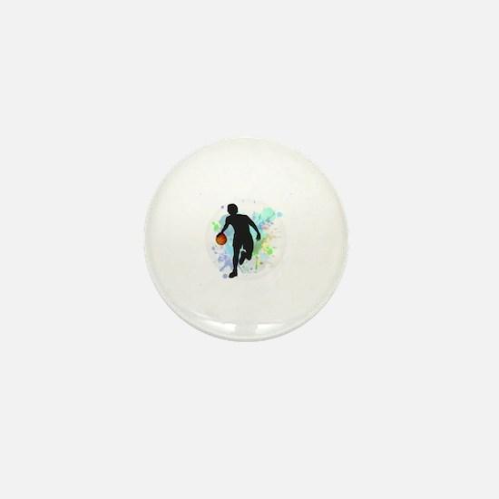 Unique Basketball Mini Button