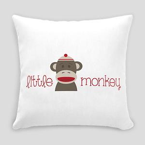 Little Monkey Everyday Pillow