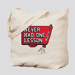 One lesson Tote Bag