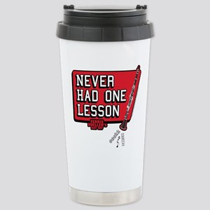 One lesson Stainless Steel Travel Mug