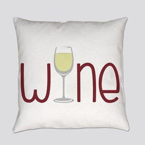 Wine Everyday Pillow