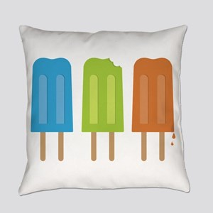 Popsicles Everyday Pillow