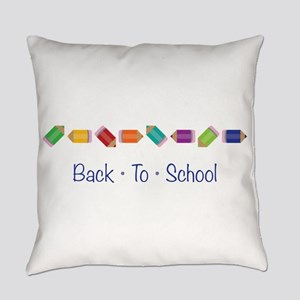 Back To School Everyday Pillow