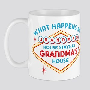 Las Vegas Stays At Grandma's Mug