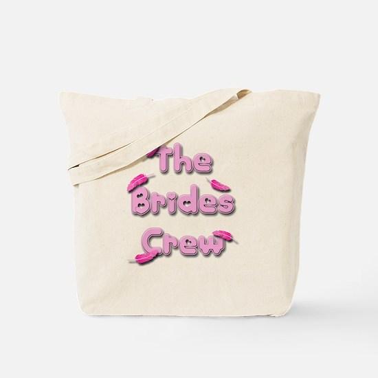 the brides crew.png Tote Bag