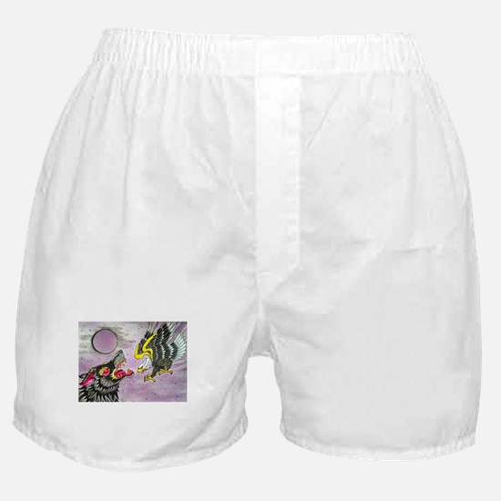 Wolf and Eagle Boxer Shorts