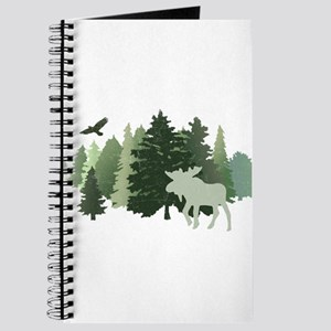 Moose in the Forest Journal