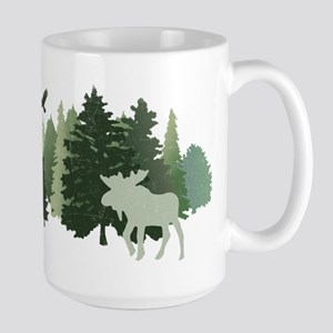 Moose in the Forest Mugs