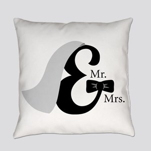 Mr & Mrs Ampersand Everyday Pillow