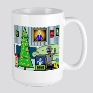 Christmas Tree Presents Large Mug Mugs