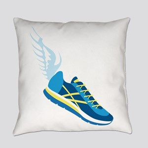Running Shoe Wing Everyday Pillow