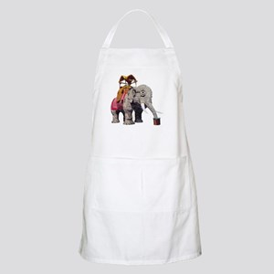 Glitter Lucy the Elephant Apron