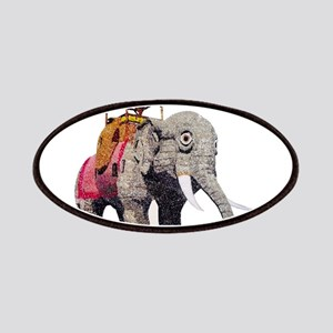 Glitter Lucy the Elephant Patch