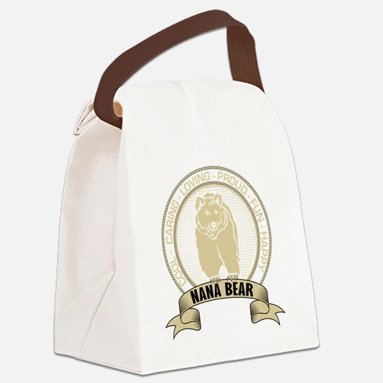 Funny Cool nana Canvas Lunch Bag