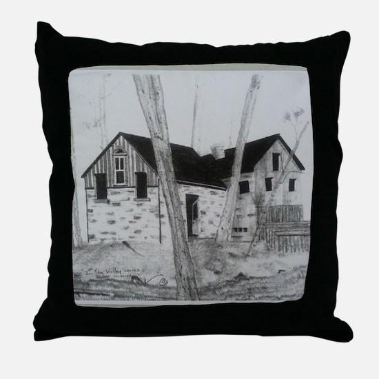 Cool Fleece throw Throw Pillow