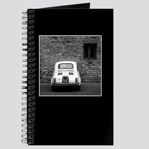 Old Fiat 500 in Tuscany Journal