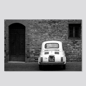 Old Fiat 500 in Tuscany Postcards (Package of 8)