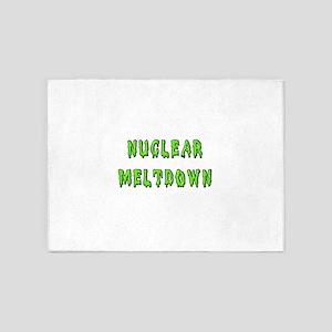Nuclear Meltdown 5'x7'Area Rug