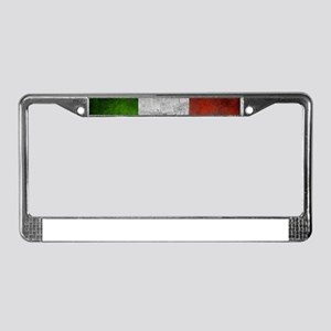 Vintage ITALY License Plate Frame
