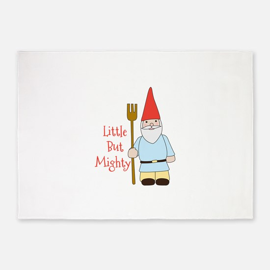 Little Mighty Gnome 5'x7'Area Rug