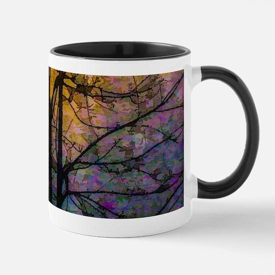 Foggy Sunset Mugs