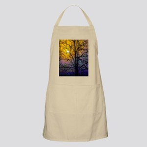 Foggy Sunset Apron