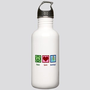 Peace Love Sociology Stainless Water Bottle 1.0L
