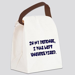 Unsupervised Canvas Lunch Bag