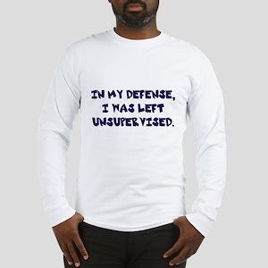 Unsupervised Long Sleeve T-Shirt