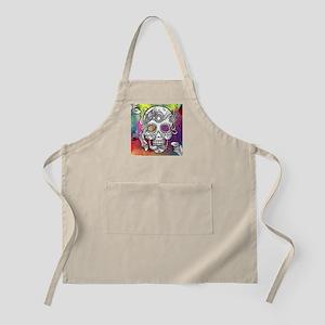 Sugar Skulls Color Splash Designs #WITHMSPDG Apron