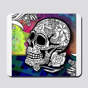 Sugar Skulls Color Splash Designs #WITHM Mousepad