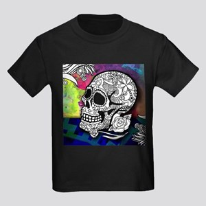 Sugar Skulls Color Splash Designs #WITHMSP T-Shirt