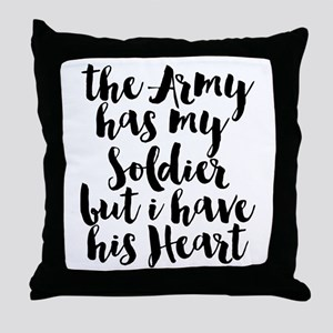 The Army has my Soldier but I have his Heart Throw