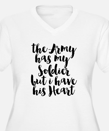 The Army has my Soldier but I have his Heart Plus