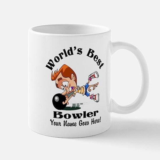 Worlds Best Bowler Mugs